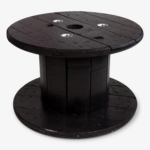 kabelhaspel tafel zwart