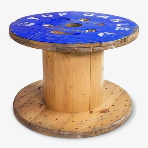 Haspel tafel blank blauw
